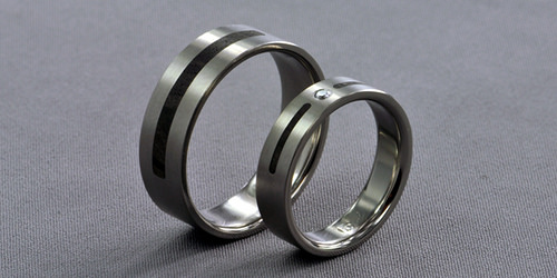 titanium ring photo
