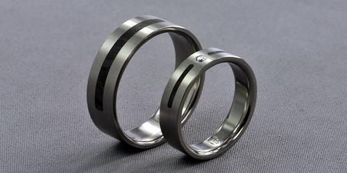titanium ring photo