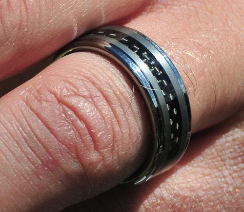 tungsten ring photo