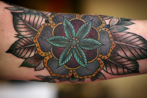 mandala tattoo photo