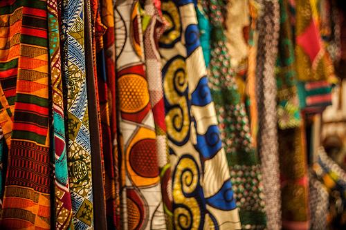 vibrant dress photo