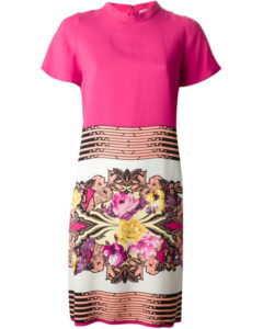Etro Floral Print Shift Dress