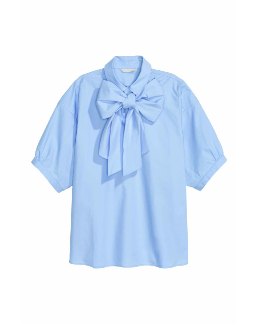 H&M Pussy Bow Blouse