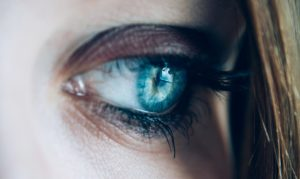 womans eyes