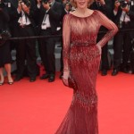 Burgundy Gowns at 2014 Cannes Film Festival