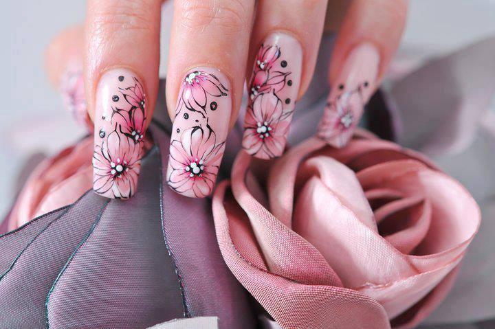 beautifully polished manicure
