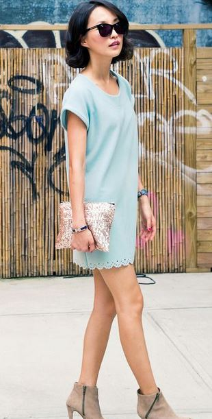effortless style in pastel