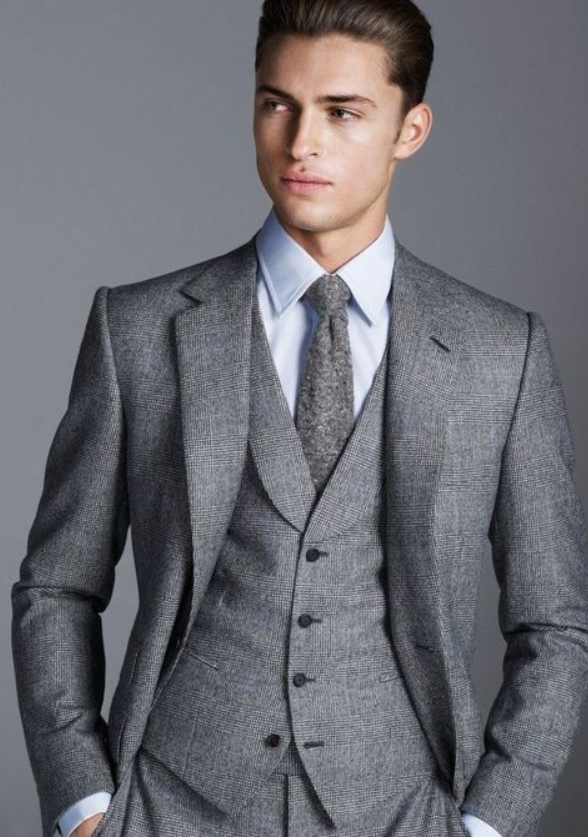 Man In a Three-Piece Suit