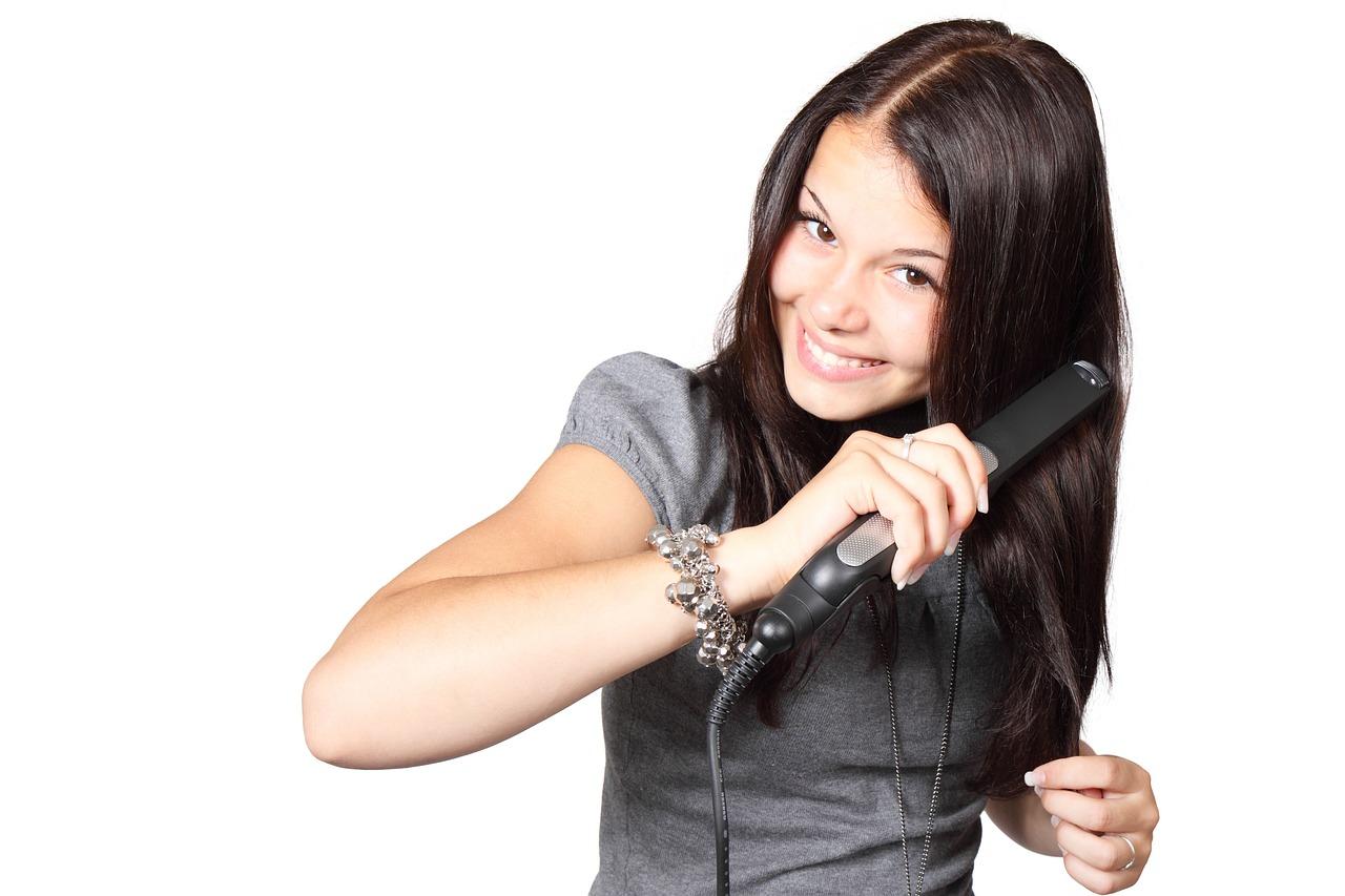 woman hair photo