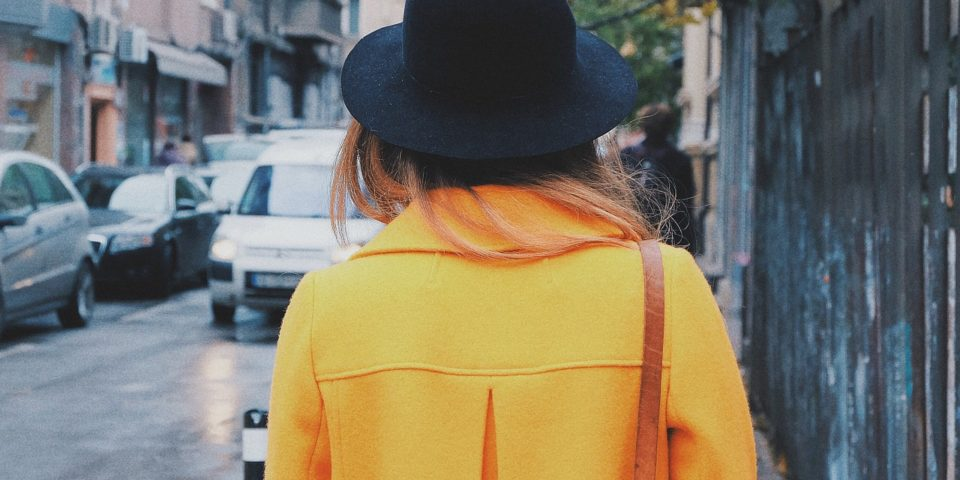yellow coat fashion trend 2018