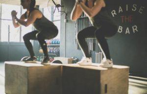 fit woman workout