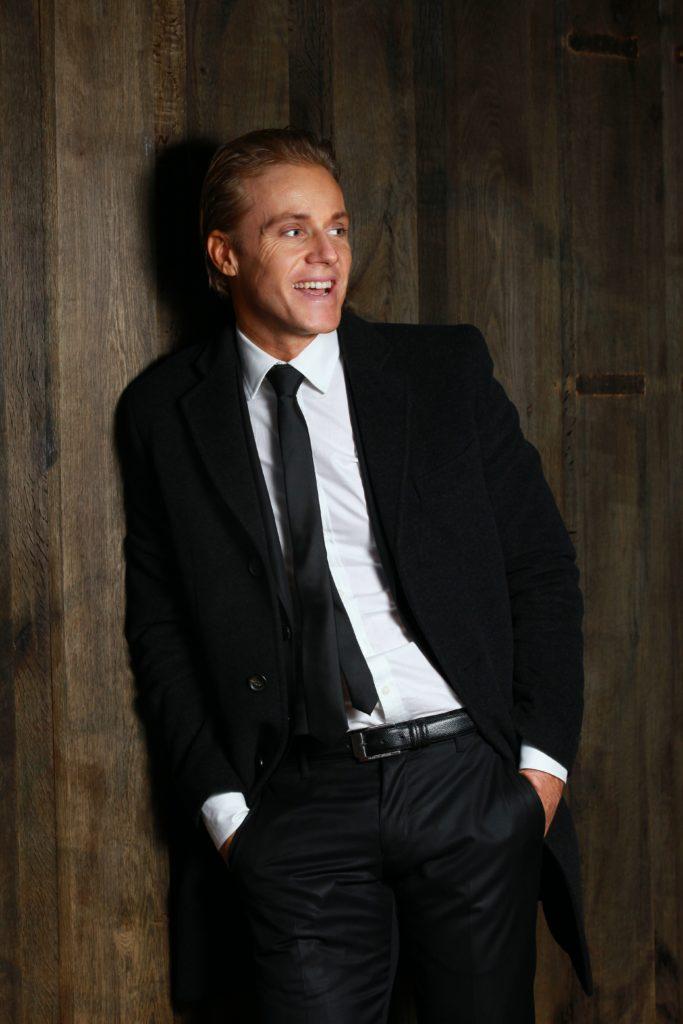 elegant man in a suit