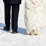 Elegant Dresses For a Winter Wedding